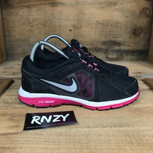 Nike Fusion Run Black Pink Athletic Shoes
